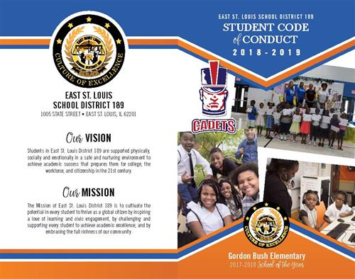 2018-2019 Code of Conduct