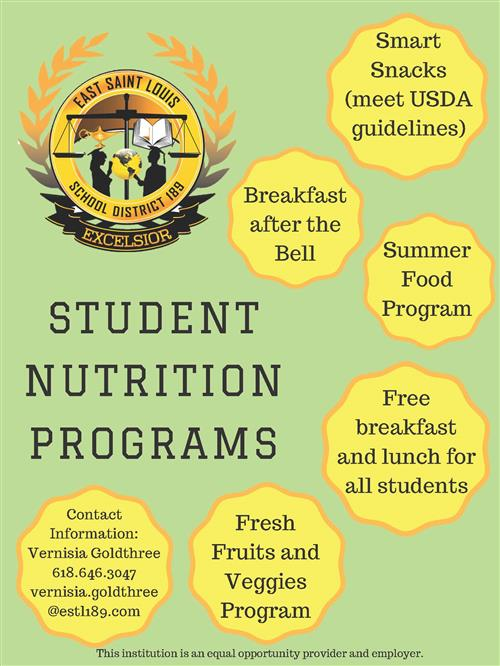 child nutrition department page