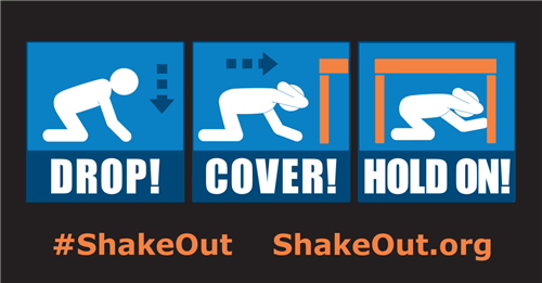 District 189 to Join Great American ShakeOut Earthquake Drill